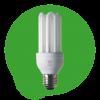 Lampe fluo compacte classique