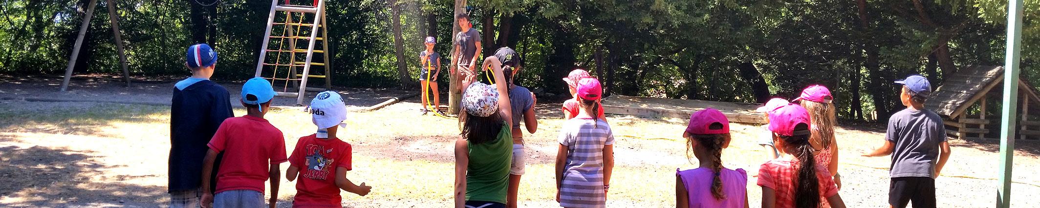 Des camps pour vos enfants cet été !